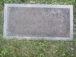 Martha Ann <i>Webb</i> Richmond