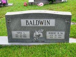 Robert D Baldwin, Sr