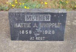 Harriet A Hattie <i>Foster</i> Whipple