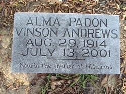 Alma Padon <i>Vinson</i> Andrews