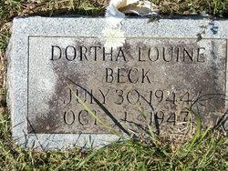 Dortha Louine Beck