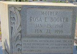 Rosa E. <i>Lundy</i> Booker