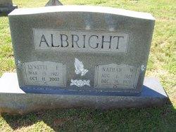 Lynette Mattie <i>Ferree</i> Albright