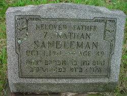 Z. Nathan Sandleman