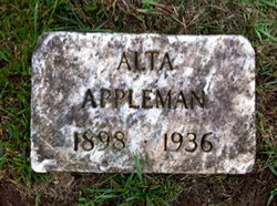 Alta E. <i>Lawton</i> Appleman