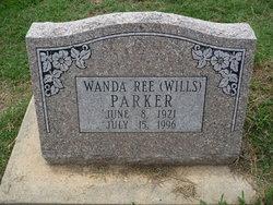Wanda Ree <i>Wills</i> Parker