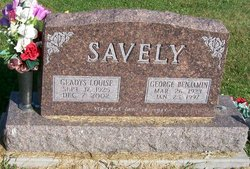 Gladys Louise <i>Smith</i> Savely