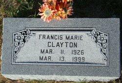Francis Marie <i>Lawley</i> Clayton
