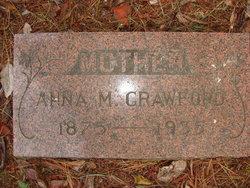 Anna M <i>Pape</i> Crawford