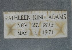 Kathleen <i>King</i> Adams