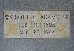 Wyriott Cason Adams, Sr