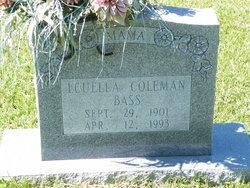 Louella <i>Coleman</i> Bass