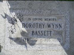 Dorothy E <i>Wynn</i> Bassett