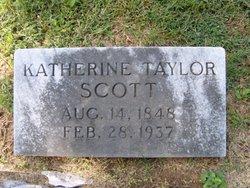 Katherine <i>Taylor</i> Scott
