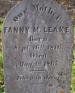 Fanny Minor <i>Kean</i> Leake