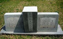Calvin W Bohannon