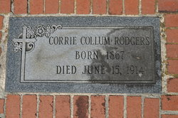 Corrie Lee <i>Collum</i> Rodgers