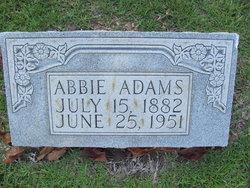 Alfred Guy Abbie Adams, Sr