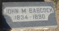 John M. Babcock
