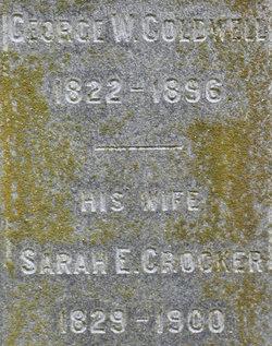 Sarah Elizabeth <i>Crocker</i> Coldwell