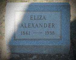 Eliza <i>Rodgers</i> Alexander