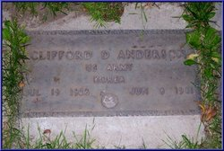 Clifford D Anderson