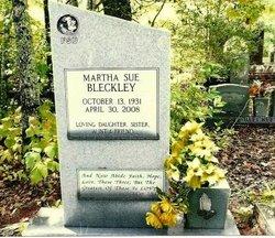 Martha Sue Bleckley