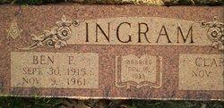 Ben F Ingram