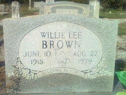 Willie Lee Brown
