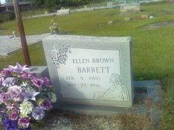 Ellen <i>Brown</i> Barrett