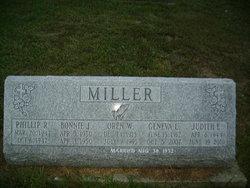 JUDITH ELLEN <i>MILLER</i> DALE