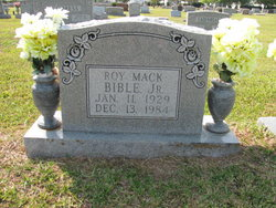 Roy Mack Bible, Jr
