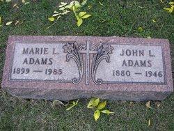 Marie L <i>Schmitt</i> Adams