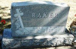 Alice Elizabeth <i>O'Hara</i> Baker