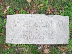 William W Krape