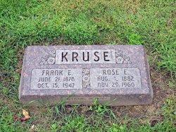 Rose E <i>Oakley</i> Kruse