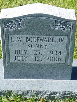 Erastus Wheeler Sonny Boleware, Jr