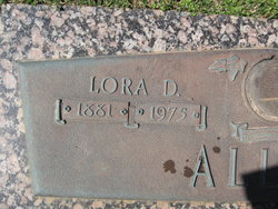 Lora D. Allen