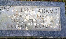 Eliza Jane Adams