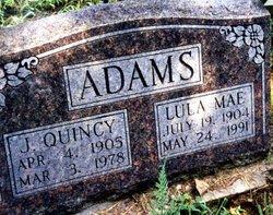 Lula Mae <i>Scoggin</i> Adams