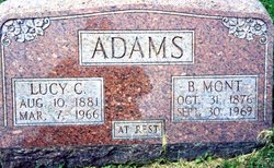 Lucy Cornelia <i>Alcorn</i> Adams