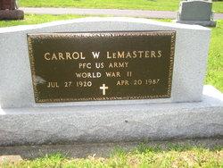 Carroll Wray Lemasters