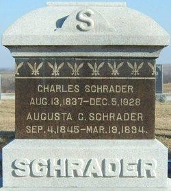 Augusta Charlotte <i>Marquardt</i> Schrader