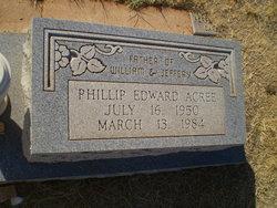 Phillip Edward Acree