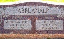 M. Lillian <i>Ross</i> Abplanalp
