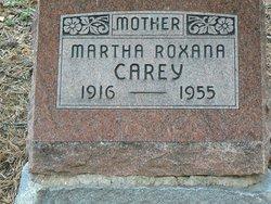 Martha Roxanna <i>Hinton</i> Carey