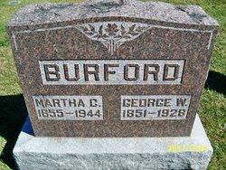 Martha Clementine <i>DeLozier</i> Burford