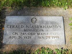 Gerald Norman Abrahamson
