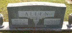 Margaret Frances Maggie <i>Hinson</i> Allen