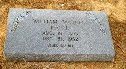 William Warren Haire